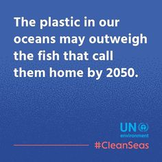 more plastic than fish. imagine more plastic than animals in the forrest. we can change it!