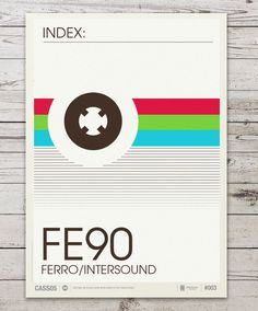 Cassette Tape Posters  Beautifully observed and...