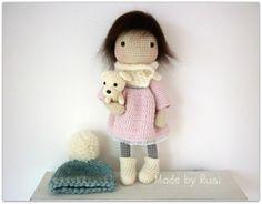 Amigurumi häkeln Puppe  Leah von Rusi Dolls von RusiDolls auf Etsy