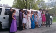 Some of our past wonderful prom kids!