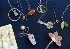 Sterling silver jewelry by Jennie Milner