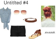 """Untitled #4"" by ainaaah ❤ liked on Polyvore"