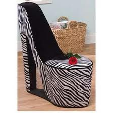 zebra print room ideas.