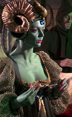 Barbara Steele as Theodora - the Good Witch of the North