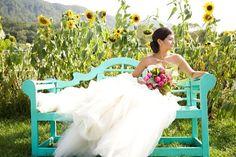 sunflower field wedding - Google Search