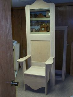 hall tree chair with storage