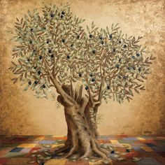 Olive tree * 80 x 60 cm * Gerodimou * www.gerodimou.com *  What has this olive tree seen? What does she know? How much strength she has used to turn her body? She did it not to see, or to see better?