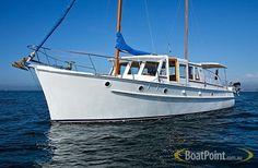 1955 BAY CRUISER 40FT CLASSIC Classic Boats For Sale, Shrimp Boat, Speed Boats, Jet Ski, Motor Boats, Wooden Boats, Tall Ships, Fishing Boats, Sailing Ships