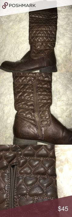 Betsy Johnson rider boots Lightly worn. True to size. Betsey Johnson Shoes Winter & Rain Boots