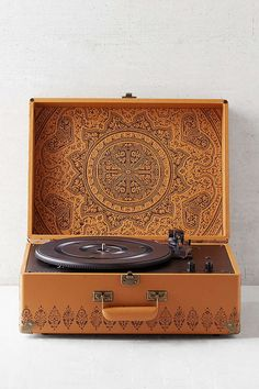 Crosley X UO AV Room Embossed Portable USB Vinyl Record Player - Urban Outfitters