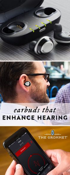 Amp up your hearing, isolate conversations, or block out background noise. These smart earbuds create a custom hearing experience tailor-made for you.