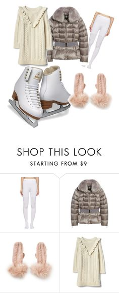 """""""Cozy cute"""" by rubyjoygrey ❤ liked on Polyvore featuring Balenciaga, Ted Baker, Charlotte Russe and iceskatingoutfit"""