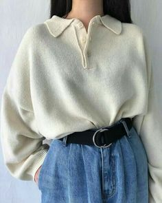 Korean Fashion Looks .Korean Fashion Looks Korean Outfits, Mode Outfits, Retro Outfits, Cute Casual Outfits, Vintage Outfits, Vintage Fashion, Korean Fashion Casual, Grunge Outfits, Retro Fashion