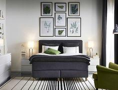 DUNVIK Boxspringbett vereint qualitativ hochwertigen Schlafkomfort mit großartigem Design.