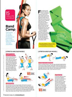 15 minute stretch band workout