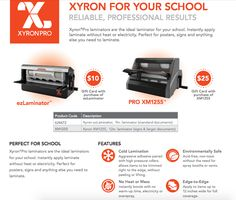 Office Supplies See More Xyron Pro Laminators Are The Ideal Laminator For Your School Instantly Ly