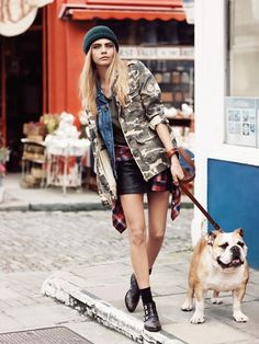 Cara Delevingne for Pepe Jeans Fall 2013 ~ fashion in my eyes