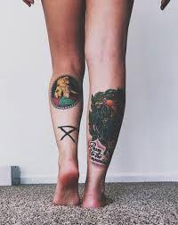 Resultado de imagen de legs tattoo tumblr