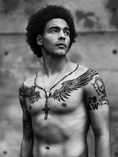 Axel Witsel (1989) - Belgian footballer who plays for FC Zenit Saint Petersburg in the Russian Premier League and the Belgium national team. His natural position is centre midfield and can also play attacking midfielder, but he came into the first team as a right-winger. Photo by Stephan Vanfleteren, 2014