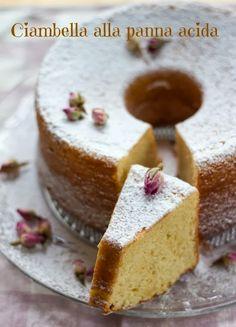Ciambella alla panna acida: una torta per amore.