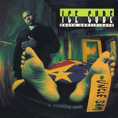 Ice Cube, Death Certificate (1991) - The 50 Best Hip-Hop Album Covers | Complex UK