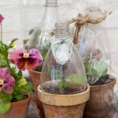 A collection of beautiful crafty projects, for recycling the humble plastic bottle.