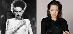 Angelina Jolie is being eyed to star in Universal's The Bride of Frankenstein remake.