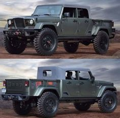 Jeep Crew Chief 715 This IS the end all be all of Jesse Abbott trucks if I could have exactly what I Pickup Trucks, Jeep Pickup, Jeep 4x4, Jeep Truck, Custom Jeep, Custom Trucks, Cool Jeeps, Cool Trucks, Jeep Willys
