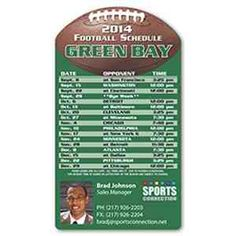 Sports Schedule Magnet. Contact MarketShare for more details and pricing.