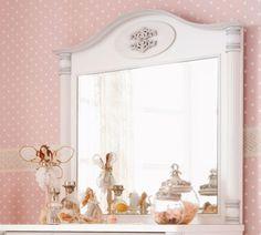 Romantic Tükör #gyerekbútor #bútor #desing #ifjúságibútor #cilekmagyarország #dekoráció #lakberendezés #termék #ágy #gyerekágy #romantic #lány #hercegnő #tükör