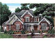 Floor Plan AFLFPW07694 is a beautiful 3189 square foot  New American  home design with 3 Garage Bays