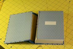 How to make a room box in a book