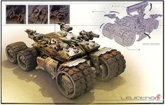 The superb futuristic and sci-fi themed creations of James Hawkins, a senior concept artist and designer working in the entertainment industry. Sci Fi Armor, Sci Fi Weapons, Army Vehicles, Armored Vehicles, Unreal Tournament, Future Weapons, Sci Fi Ships, Futuristic Cars, Futuristic Vehicles