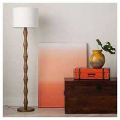 Nixon Floor Lamp Walnut - Threshold™ : Target