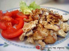 Cookbook Recipes, Cooking Recipes, Mediterranean Recipes, Shrimp, Pork, Food And Drink, Dishes, Meat, Chicken
