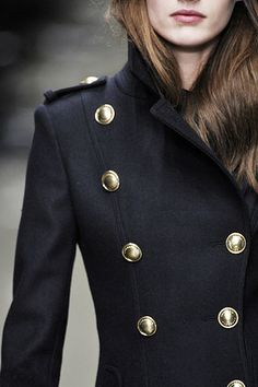 Burberry Prorsum: This coat is serious!....x