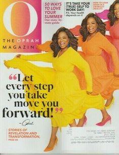 O The Oprah Magazine June 2019 BRAND NEW Every Step You Take, Take That, O The Oprah Magazine, Uk Magazines, Rosie Huntington Whiteley, Oprah Winfrey, Little Books, Brand Identity, June