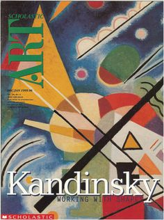 Kandinsky & much more - lessons, ppts, handouts, student work awesome powerpoint! Art Syllabus, Cavalier Bleu, Art Handouts, Kandinsky Art, High School Art Projects, Franz Marc, Art Web, Art Worksheets, Art Curriculum