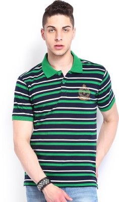 Roadster Striped Men's #Polo Neck T-Shirt - #offers2go #style #RoadsterTShirts #Fashion #Festivaloffers #onlinesales