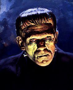 Frankenstein - Basil Gogos