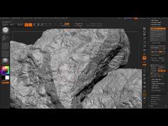 Creating Rock in ZBrushComputer Graphics & Digital Art Community for Artist: Job, Tutorial, Art, Concept Art, Portfolio