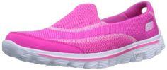 Skechers Women's Go Walk 2 Fashion Sneaker,Hot Pink,8.5 M US