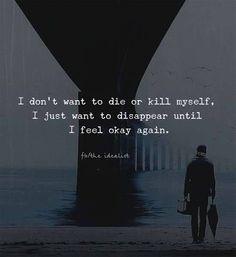 just feel okay again