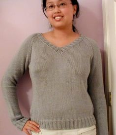 free knit sweater pattern