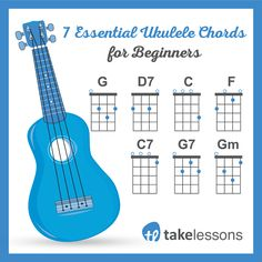 "7 Easy Ukulele Chords for Beginners  <a href=""http://takelessons.com/blog/7-easy-ukulele-chords-for-beginners-z10?utm_source=social&utm_medium=blog&utm_campaign=pinterest"" rel=""nofollow"" target=""_blank"">takelessons.com/...</a>"