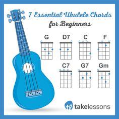 7 Easy Ukulele Chords for Beginners http://takelessons.com/blog/7-easy-ukulele-chords-for-beginners-z10?utm_source=social&utm_medium=blog&utm_campaign=pinterest