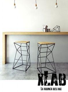 Tavolo consolle da cucina o ingresso in legno massello slim