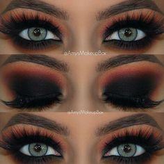 Eye Makeup Glitter, Prom Eye Makeup, Eye Makeup Tips, Smokey Eye Makeup, Makeup Tools, Eyeshadow Makeup, Makeup Products, Makeup Ideas, Dark Smokey Eye