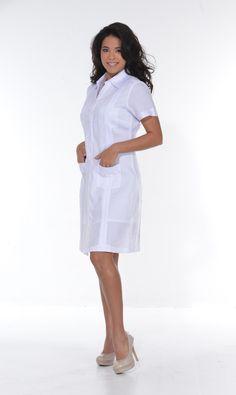 Guayabera for Ladies. Sexy Guayabera Dress. Short Sleeve.