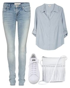 """""""Student style"""" by mari-marishka ❤ liked on Polyvore featuring Marc by Marc Jacobs, Joie, adidas and ILI"""